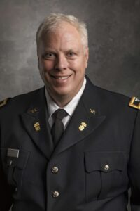 Charles Cansler, Vice President for Finance and Business at The Citadel