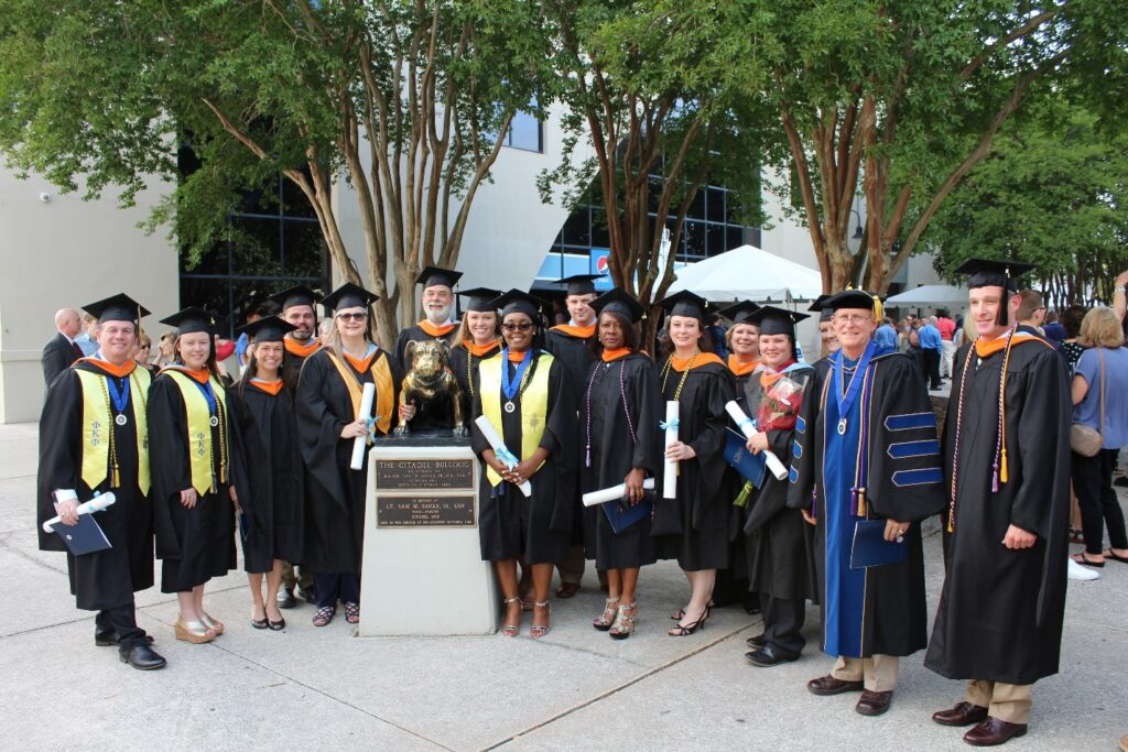 2018 Master of Science in Project Management graduates